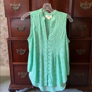 Maeve by Anthropologie XS Sleeveless Blouse